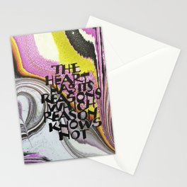 The Heart Has Its Reasons Stationery Cards