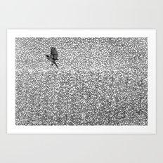Stone Bird Art Print