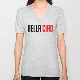 Money heist Bella Ciao Unisex V-Neck