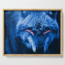 Wolf Serving Tray