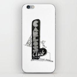 Carlos Club iPhone Skin