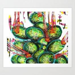 Cactuci Art Print