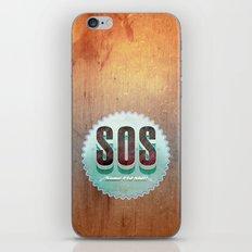 S O S iPhone & iPod Skin