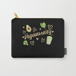 Veganuary Vegan January Carry-All Pouch
