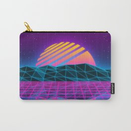 Vaporwave Sunset Carry-All Pouch