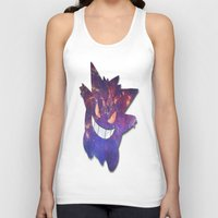 gengar Tank Tops featuring Galaxy Gengar by Visual Declaration