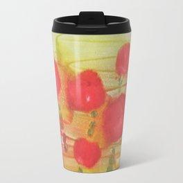 abstract poppies Travel Mug