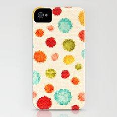 fun little polka dots Slim Case iPhone (4, 4s)