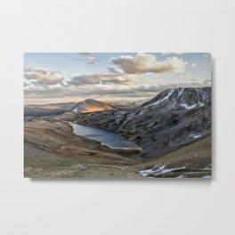 Hidden Lake Wyoming Metal Print