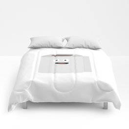 Toilet paper with face Comforters