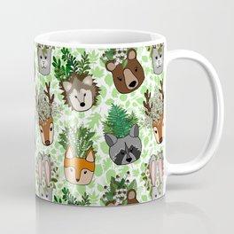 Woodland Wildflowers Animal Planters Coffee Mug