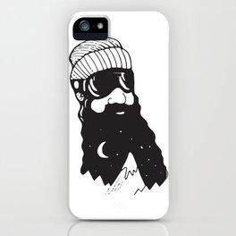 Snow Man iPhone Case