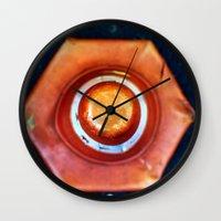 dot Wall Clocks featuring dot by Cansu Girgin