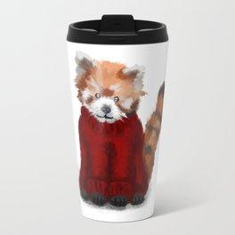 Red Panda in a Jumper Travel Mug
