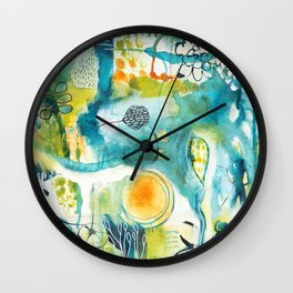 Cracks II - Where the light gets in Wall Clock