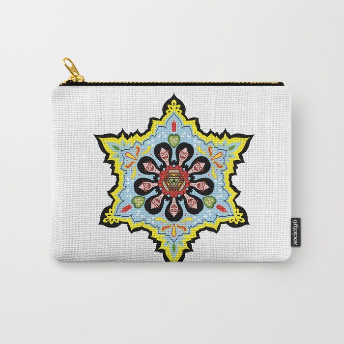 Alright linda belcher mandala kaleidoscope Carry-All Pouch