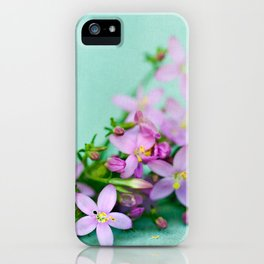 Happy little things  iPhone Case