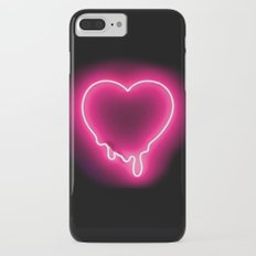 Heart (Neon) iPhone 7 Plus Slim Case
