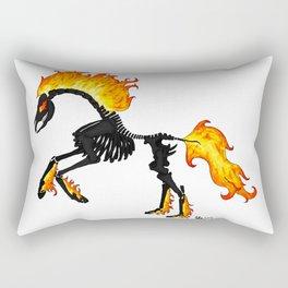 Demon Horse Rectangular Pillow