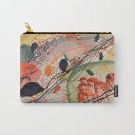 Wassily Kandinsky - Watercolor 1911 Carry-All Pouch