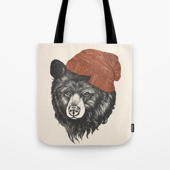 zissou the bear Tote Bag