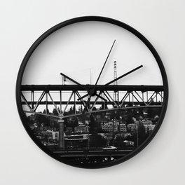 Washington Bridge Wall Clock