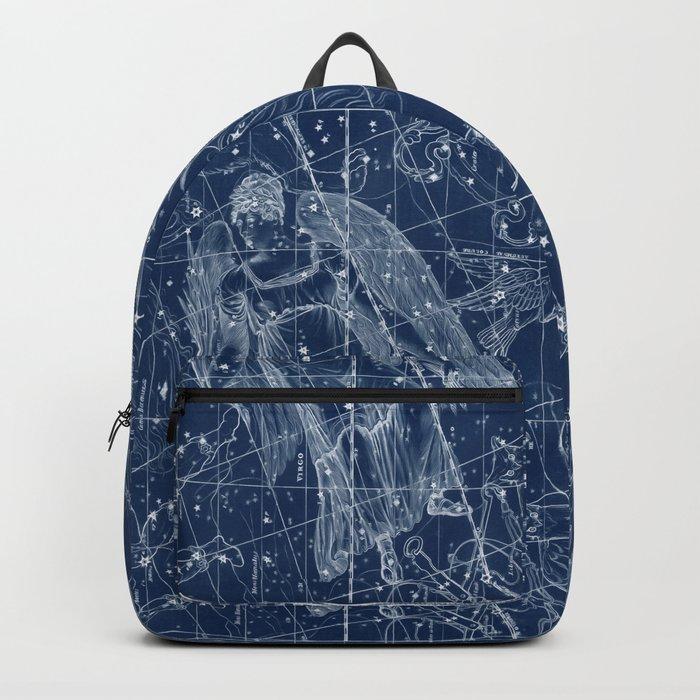 Virgo sky star map Backpack