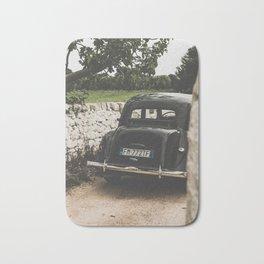 Citroën traction avant, Apulia photography, vintage car, old cars, sports car, Puglia photography Bath Mat