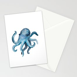 Blink the Octopus Stationery Cards