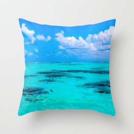 All the Blues Throw Pillow