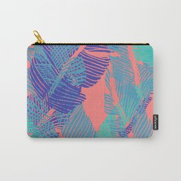 Carved Fluo Jungle #society6 #decor #buyart Carry-All Pouch