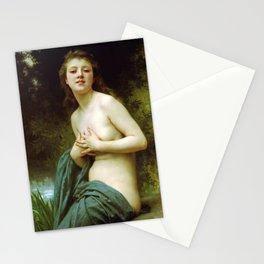 Adolphe William Bouguereau  -  La Brie Du Printemps Stationery Cards