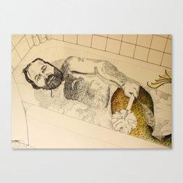 A lil' bit Trashy Canvas Print