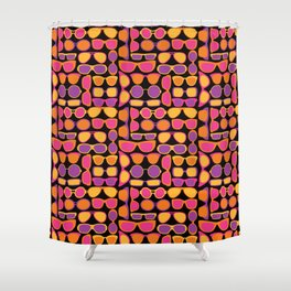 Summer Sunglasses Shower Curtain