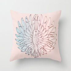 Time Ascending (A Path to an End) Throw Pillow