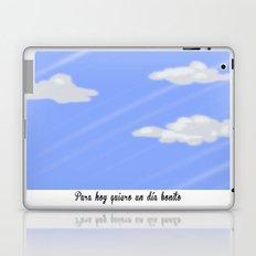 Un buen día. Laptop & iPad Skin