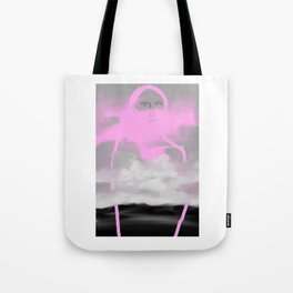 Pink Frost Tote Bag