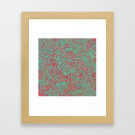 Seasonal Colors Framed Art Print