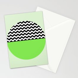 Moiety Green Stationery Cards