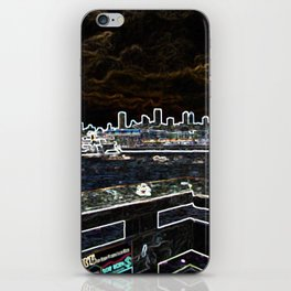 Glowing San Francisco iPhone Skin