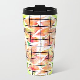 abstract floral background Travel Mug