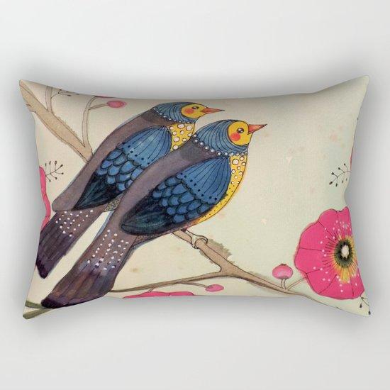 airy roadtrip Rectangular Pillow