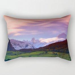 Naranjo de Bulnes (known as Picu Urriellu) Rectangular Pillow