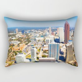 Atlanta Downtown Rectangular Pillow