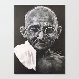 Mohandas Gandhi Canvas Print