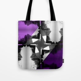 Fractal Wind Vane Skyline Tote Bag