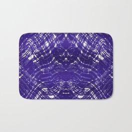 Purple Meatallic Abstract III Bath Mat
