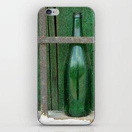 Empty Bottle iPhone Skin