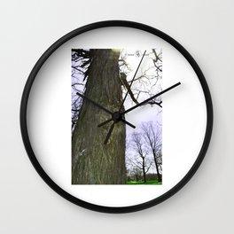 Wrangled Wall Clock