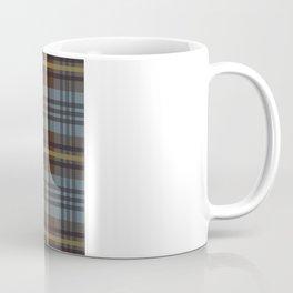Faded Johnstone Scottish Tartan Coffee Mug